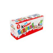Kinder Surprise 3 Pack 185x185 - تخم مرغ شانسی kinder سوپرایز