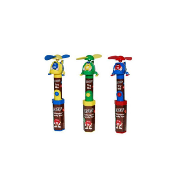 MMs HELICOPTER CANDY FAN 1 600x600 - دراژه m&m's هلیکوپتر Cool Fan