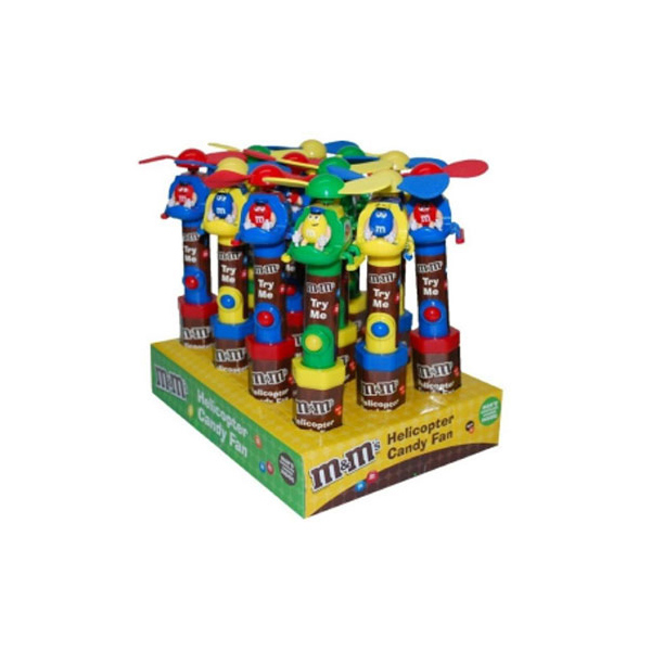 MMs HELICOPTER CANDY FAN - دراژه m&m's هلیکوپتر Cool Fan