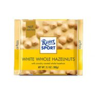 Ritter Sport White Whole Hazelnut min 185x185 - شکلات Ritter sport شکلات سفید و فندق