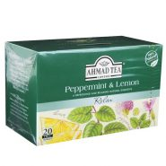 ahmad tea peppermint   lemon tea infusion 20 bags 40g 185x185 - دمنوش Ahmad نعنا تند و لیمو