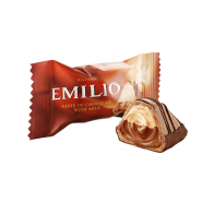 EMILIO taste of chocolate with milk min 185x185 - ویفر امیلیو ABK شیری