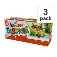 Kinder Surprise Animal Adventure min 185x185 - تخم مرغ شانسی Kinder Surprise