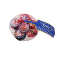 Christmas coins 85g Image 1 Zoom image min 185x185 - شکلات Only بابانوئل سکه ای