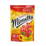 eng pl Minutka Fruit flavored wild rose with the Malinke and zurawinka tea and juice 64 g 32 bags 75962 1 min 185x185 - چای گل رز،رزبری و کرن بری مینوتکا